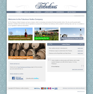fabulous vodka company website